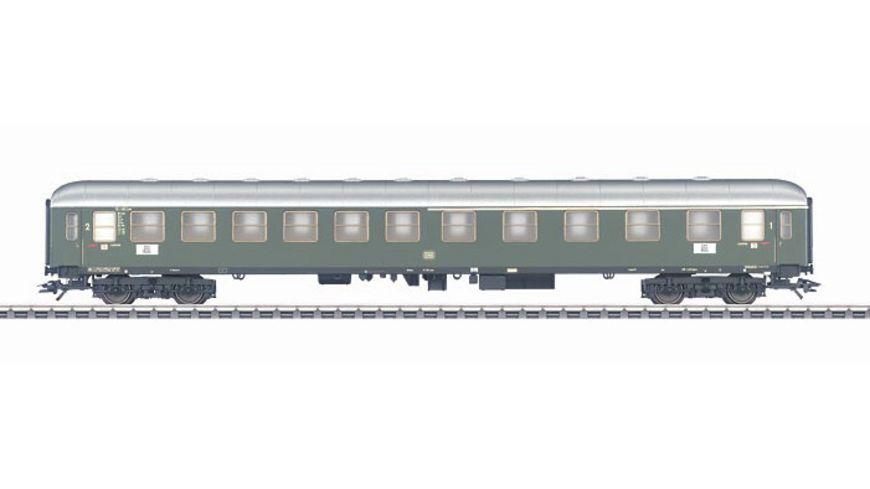 Maerklin 43930 H0 Schnellzugwagen Abteilwagen 1 2 Kl DB