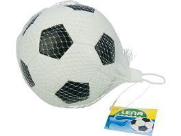 Lena Outdoor 62175 Soft Fussball schwarz weiss 10 cm