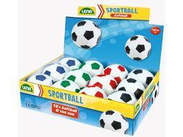 Lena Outdoor Soft Fussball 10 cm 1 Stueck sortiert