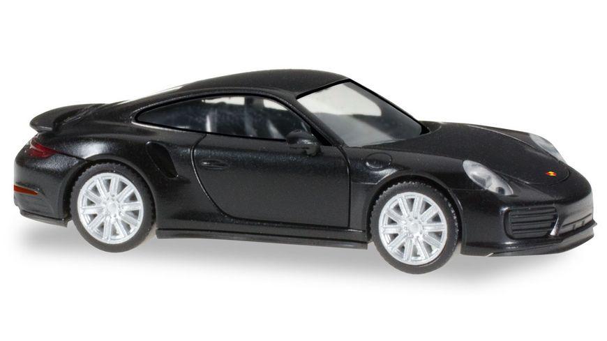 Herpa 028615 Porsche 911 Turbo schwarz