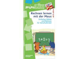 miniLUeK Schuleingangsphase Rechnen lernen mit der Maus Einfaches Zaehlen und Rechnen fuer Vorschulkinder