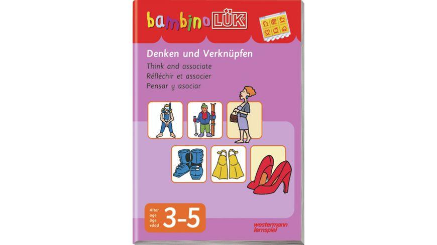 bambinoLUeK System Denken und Verknuepfen 3 5 Jahre
