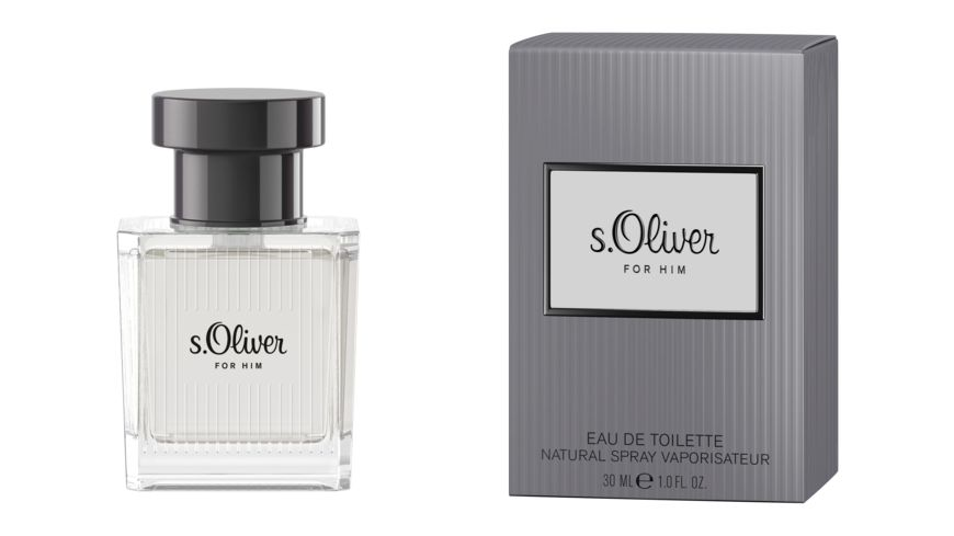 s Oliver For Him Eau de Toilette Natural Spray
