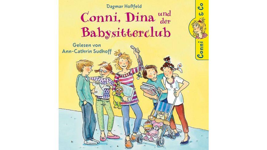 Dagmar Hossfeld Conni Dina Und Der Babysitterclub