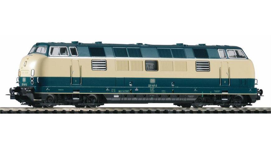 PIKO 52602 Diesellok BR 221 blau beige Gleichstrom