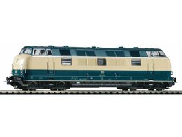PIKO 52603 Diesellok BR 221 blau beige Wechselstrom