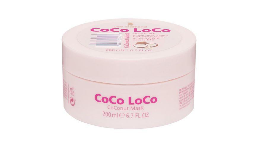 Lee Stafford Maske Coco Loco Coconut