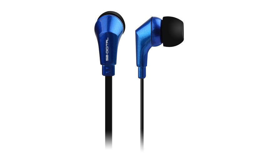 In Ear Kopfhoerer STREET BEAT Blau