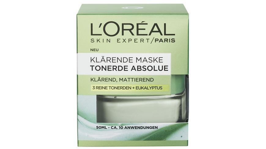 L OREAL PARIS TONERDE ABSOLUE Maske Klaerend