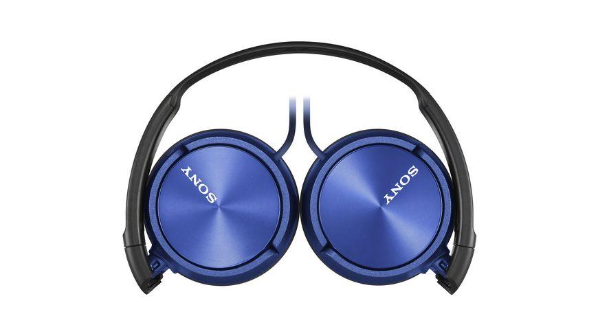 Sony On Ear Ein echter Allrounder Zusammenfaltbares Design blau