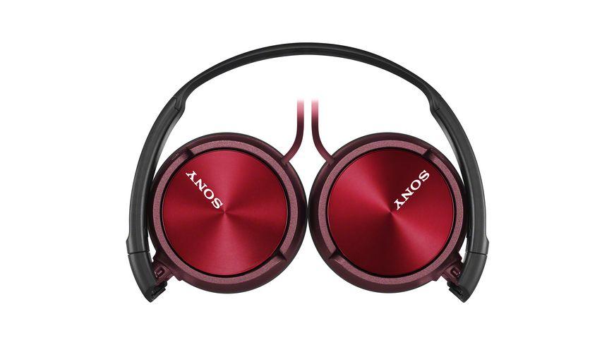 Sony On Ear Ein echter Allrounder Zusammenfaltbares Design rot