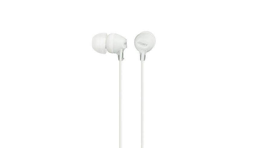 Sony In Ohr Kopfhoerer Weiss Einstiegsserie hochwertig