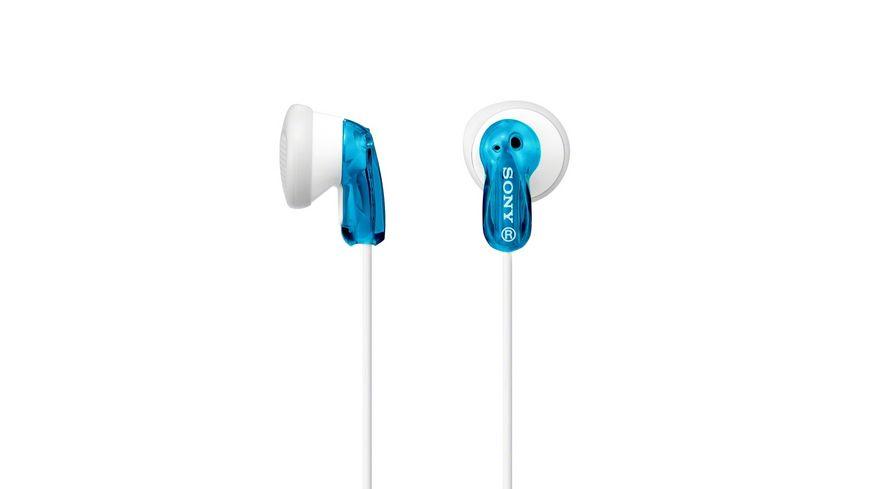 Sony In Ohr Kopfhoerer Blau Einstiegsserie