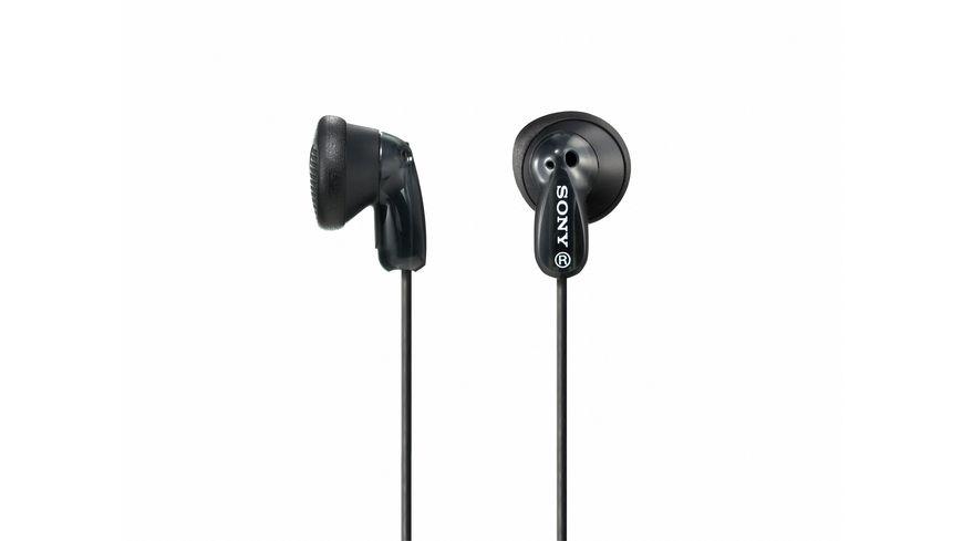 Sony In Ohr Kopfhoerer Schwarz Einstiegsserie