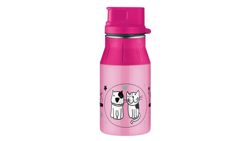 alfi Trinkflasche Cats and Dogs 0 4 l