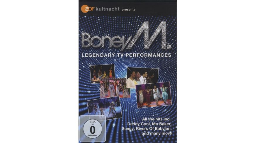 ZDF Kultnacht presents Boney M Legendary TV Pe