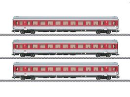 Maerklin 43310 EC Tiziano Schnellzugwagen Set H0 V