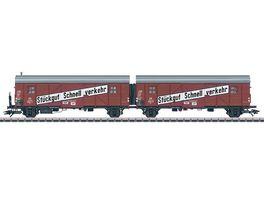 Maerklin Leig Einheit Wagen Paar Gllmhs 37 H0 III DB