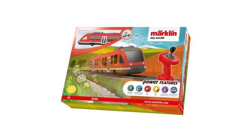 Maerklin Maerklin my world Nahverkehrszug LINT mit Akku H0
