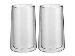 WMF Latte Macchiato Glas Set 2 Stueck Coffee Time