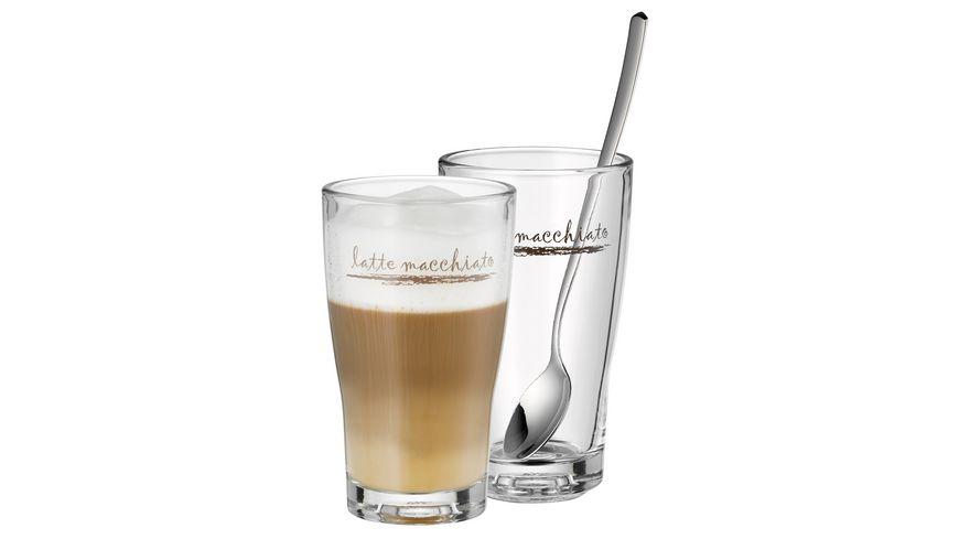 WMF Latte Macchiato Glas Set 2 Stueck Barista