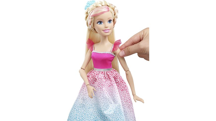 Mattel Barbie Zauberhaar Prinzessin Blond gross