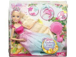 Mattel Barbie Zauberhaar Prinzessin Blond gross