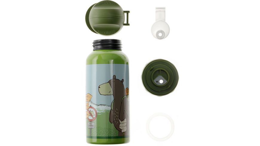 sigikid Trinkflasche Forest Grizzly