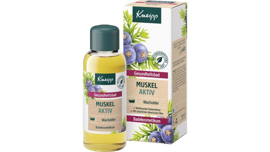 KNEIPP Gesundheitsbad Muskel Aktiv Wacholder 100 ml