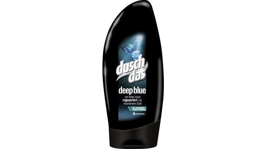 duschdas Dusche Men 2 in1 Deep Blue
