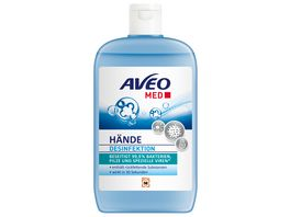 AVEO MED Haende Desinfektion