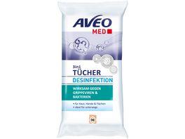 AVEO MED 3in1 Desinfektionstuecher