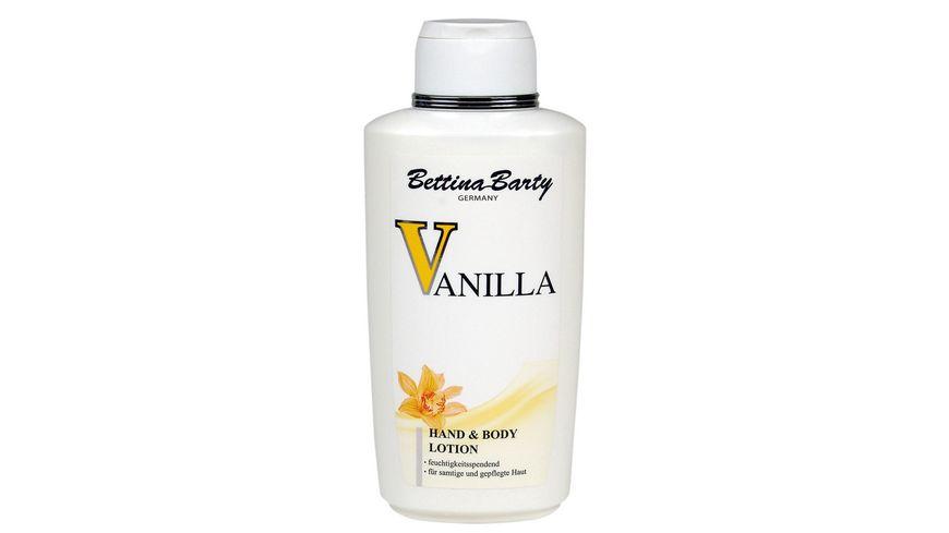 Bettina Barty Hand und Body Lotion Vanilla