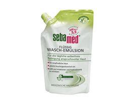 sebamed Fluessig Wasch Emulsion Olive Nachfuellbeutel