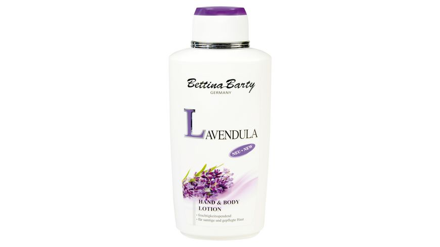 Bettina Barty Hand und Body Lotion Lavendula