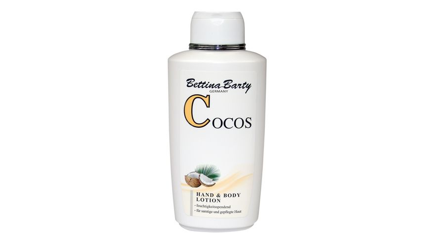 Bettina Barty Hand und Body Lotion Cocos