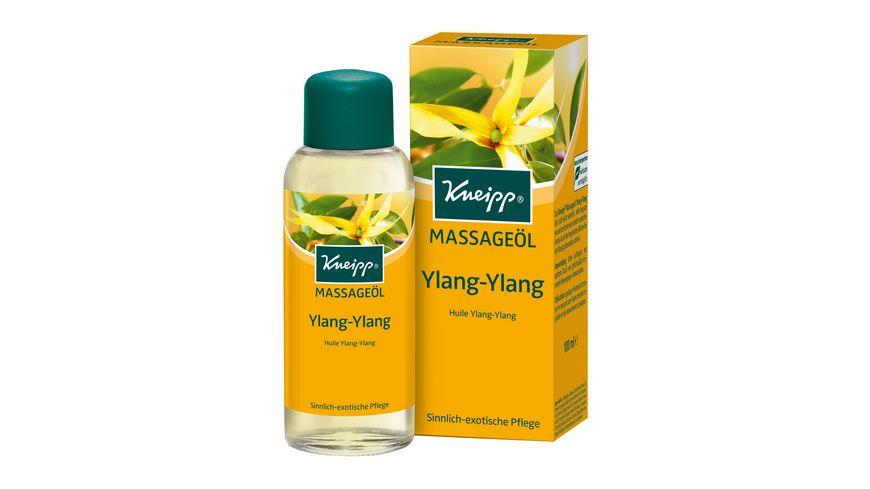 Kneipp Massageoel Ylang Ylang