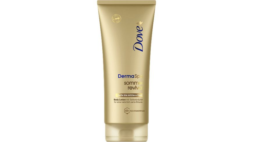 Dove DermaSpa Bodylotion Sommer Revival hell