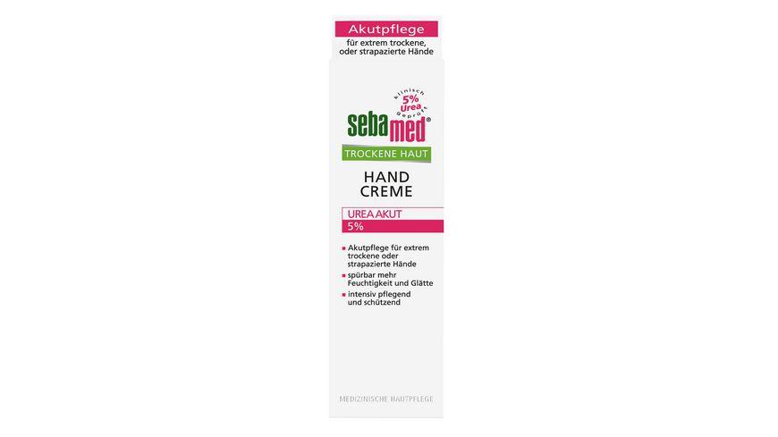 sebamed Trockene Haut Handcreme Urea Akut 5