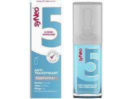 syNeo 5 Antitranspirant Pumpspray