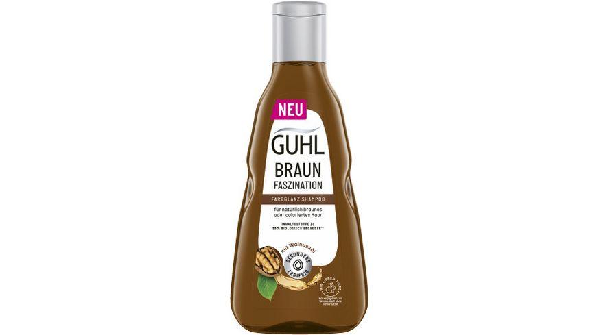 GUHL Shampoo BRAUN FASZINATION Kukuinuss Oel