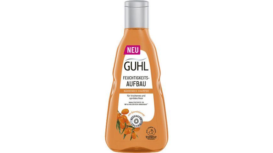 GUHL Shampoo Feuchtigkeitsaufbau Tucuma Oel