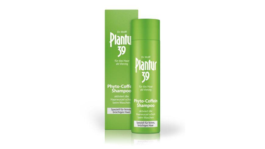 Plantur 39 Phyto Coffein Shampoo fuer feines bruechiges Haar