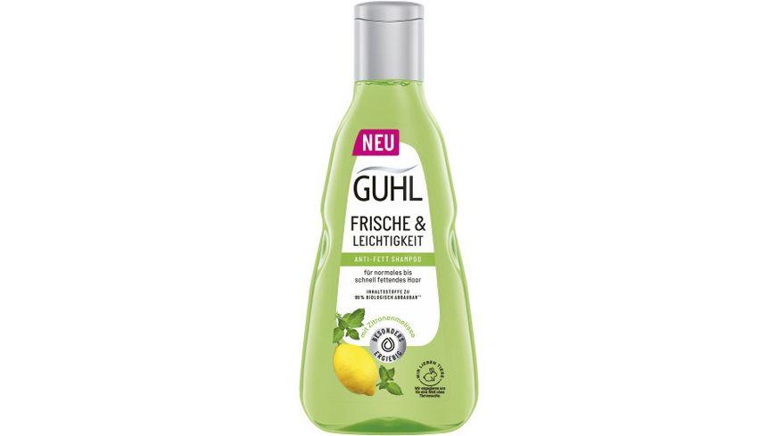 GUHL Shampoo Anti Fett Frische Leichtigkeit Yuzu Zitrus