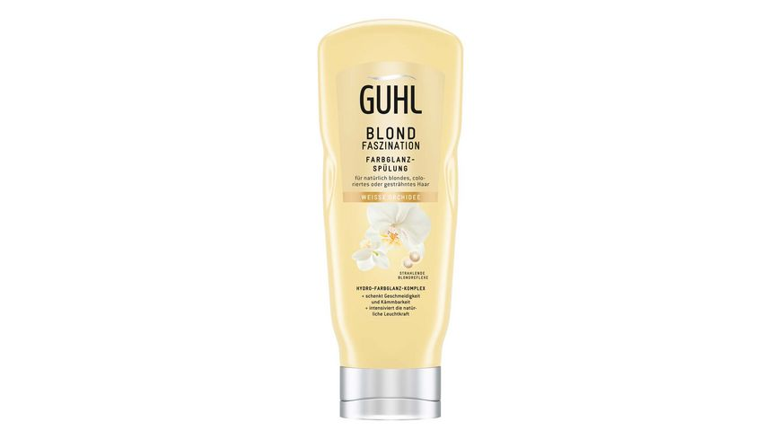 GUHL Blond Faszination Farbglanz-Spülung
