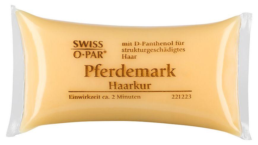 SWISS O PAR Haarkurkissen Pferdemark