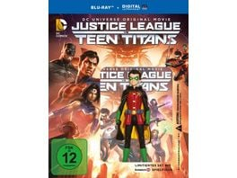 DCU Justice League vs Teen Titans exklusives Set mit Schleich Spielfigur Blu ray Disc