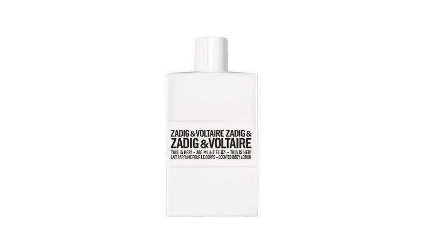 ZADIG&VOLTAIRE THIS IS HER! Bodylotion