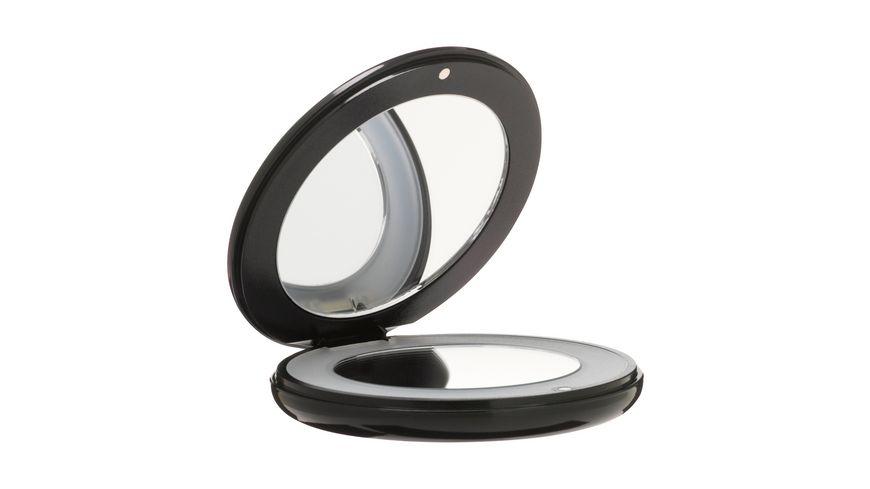 Taschenspiegel mit LED Swarovski
