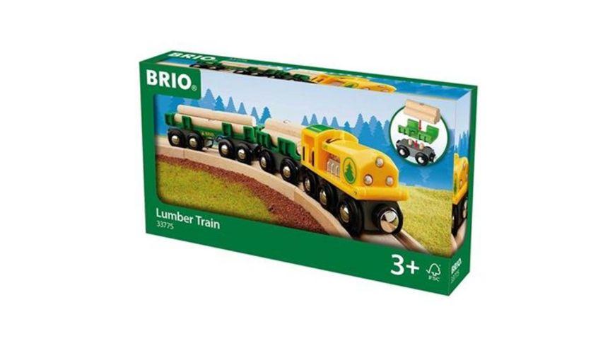 BRIO Bahn Holz Transportzug